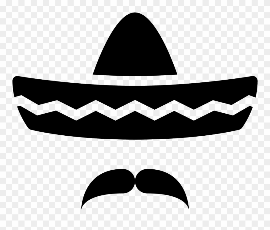 Black and white sombrero clipart jpg library library Computer Icons Clip Art Transprent Png Free - Sombrero Clipart Png ... jpg library library