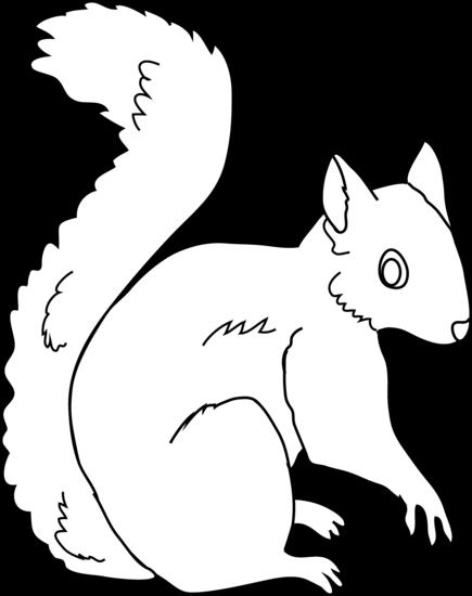 Squirrel clipart black and white picture black and white stock Squirrel clipart black and white 1 » Clipart Station picture black and white stock
