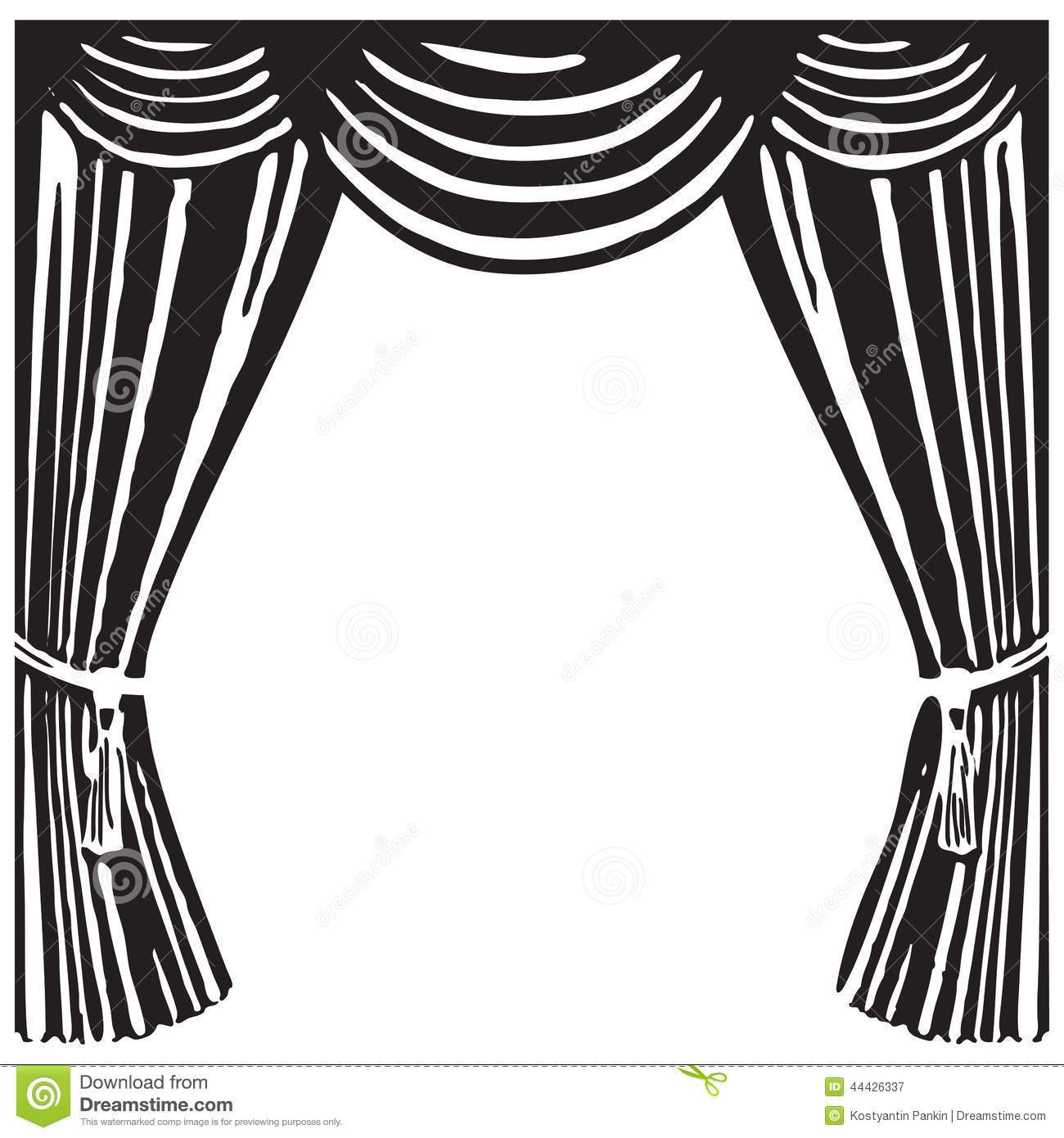 Black and white stage clipart banner royalty free library Stage clipart black and white 4 » Clipart Portal banner royalty free library