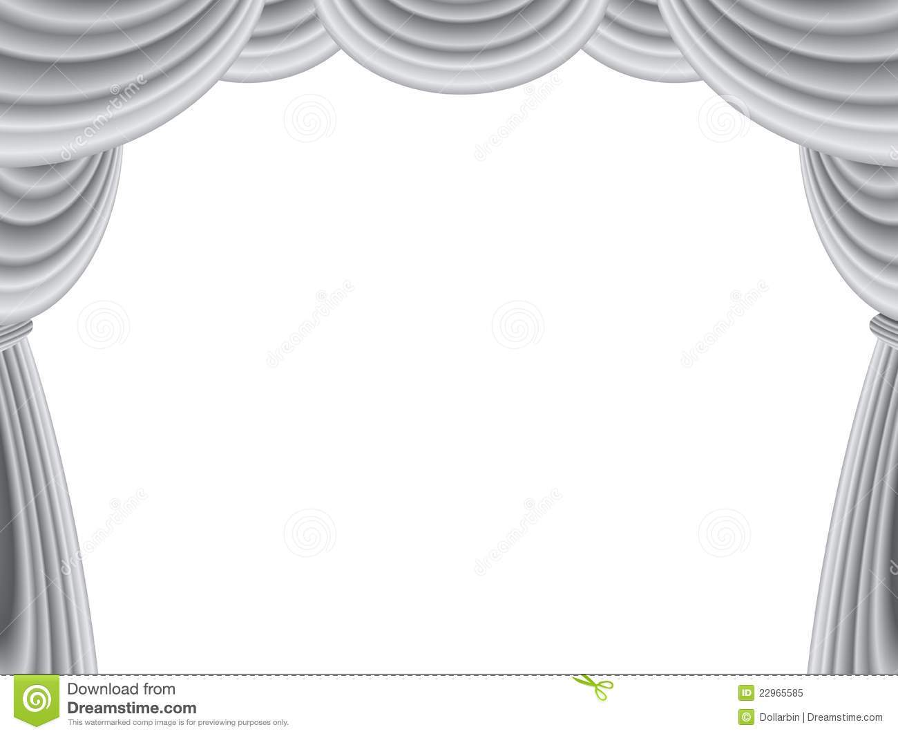 Black and white stage clipart picture black and white Stage curtains clipart black and white 2 » Clipart Portal picture black and white