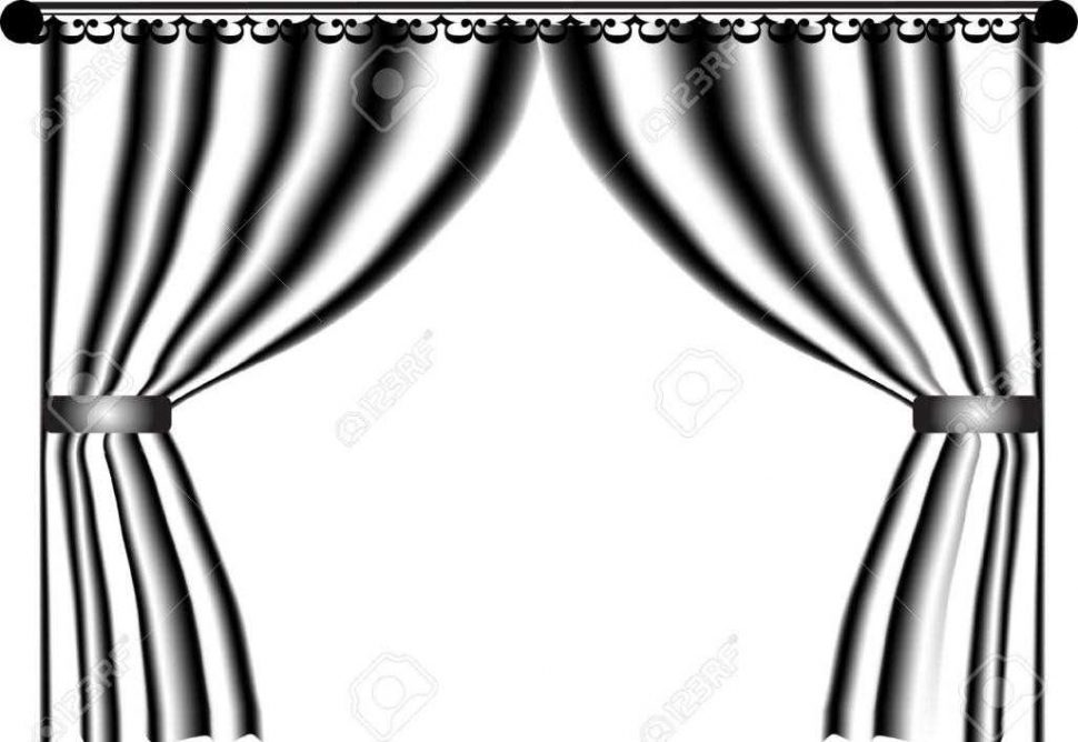 Black and white stage clipart black and white Spotlight Clipart Black And White | Free download best Spotlight ... black and white