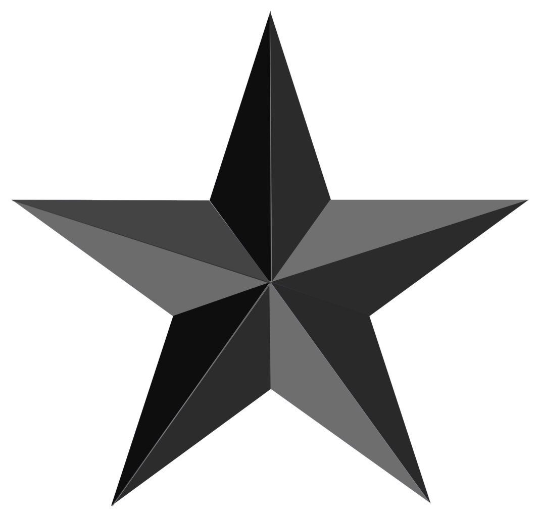 Black and white star clipart clip stock Black Star Png Clipart Image clip stock