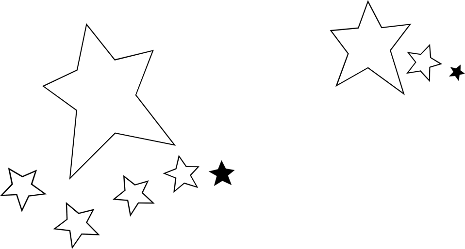 Black star clipart transparent jpg royalty free download Stars | Free Stock Photo | Illustration of white and black stars ... jpg royalty free download
