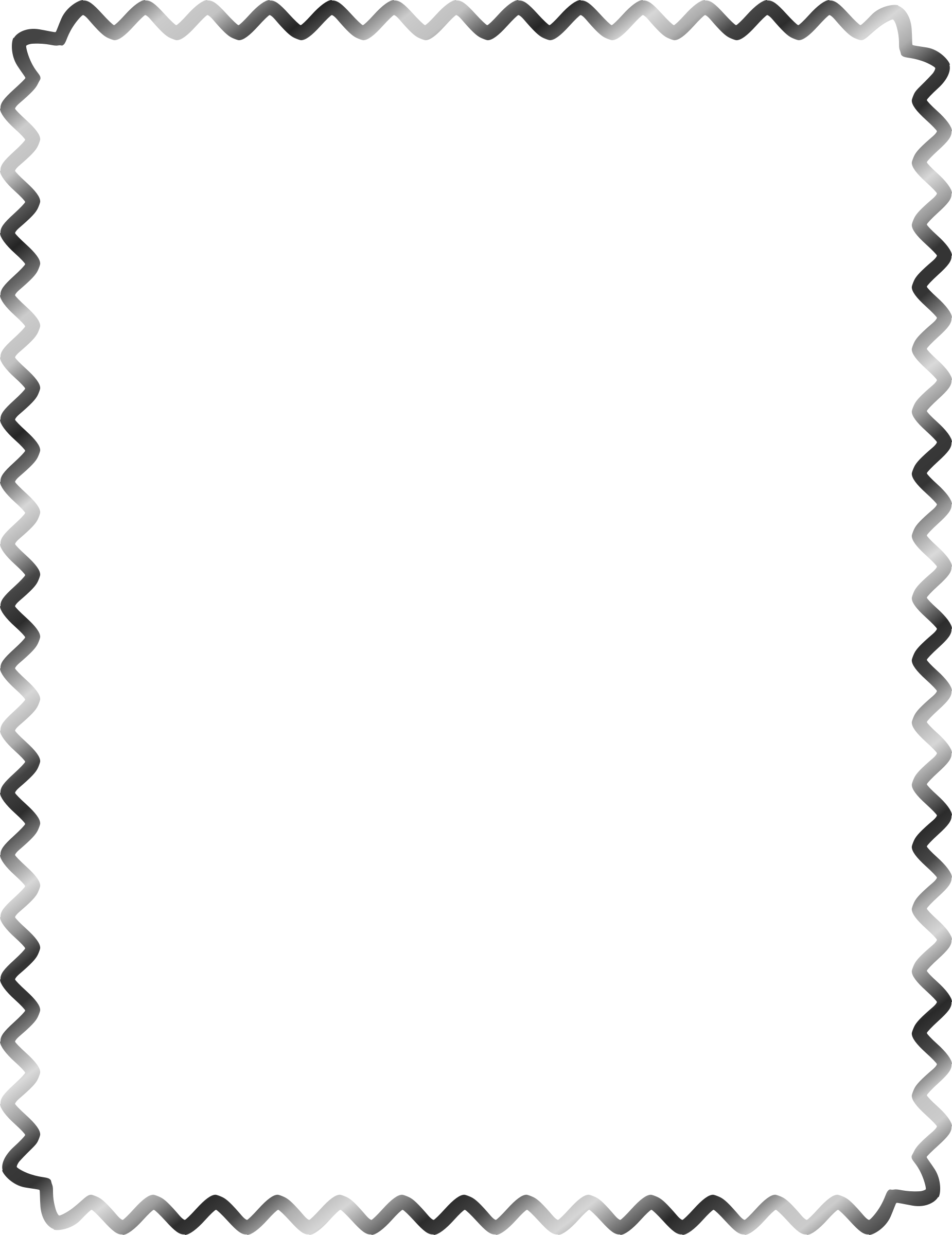 Star clipart black and white border picture black and white Clipart - Sine Wave Border picture black and white