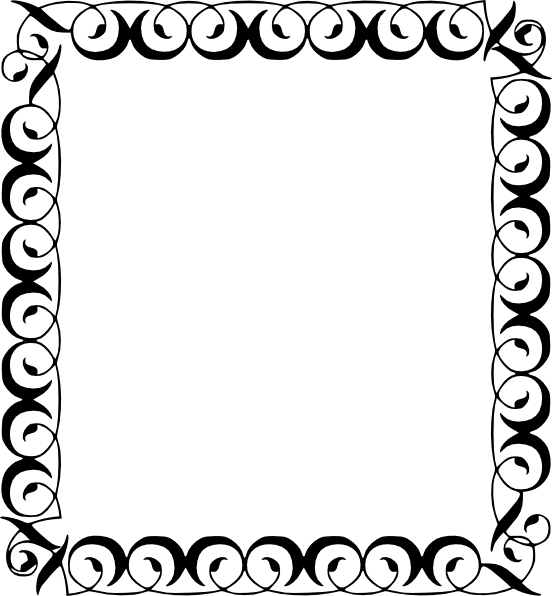 Simple flower border clipart svg freeuse library Star Clipart Black And White Border | Clipart Panda - Free Clipart ... svg freeuse library
