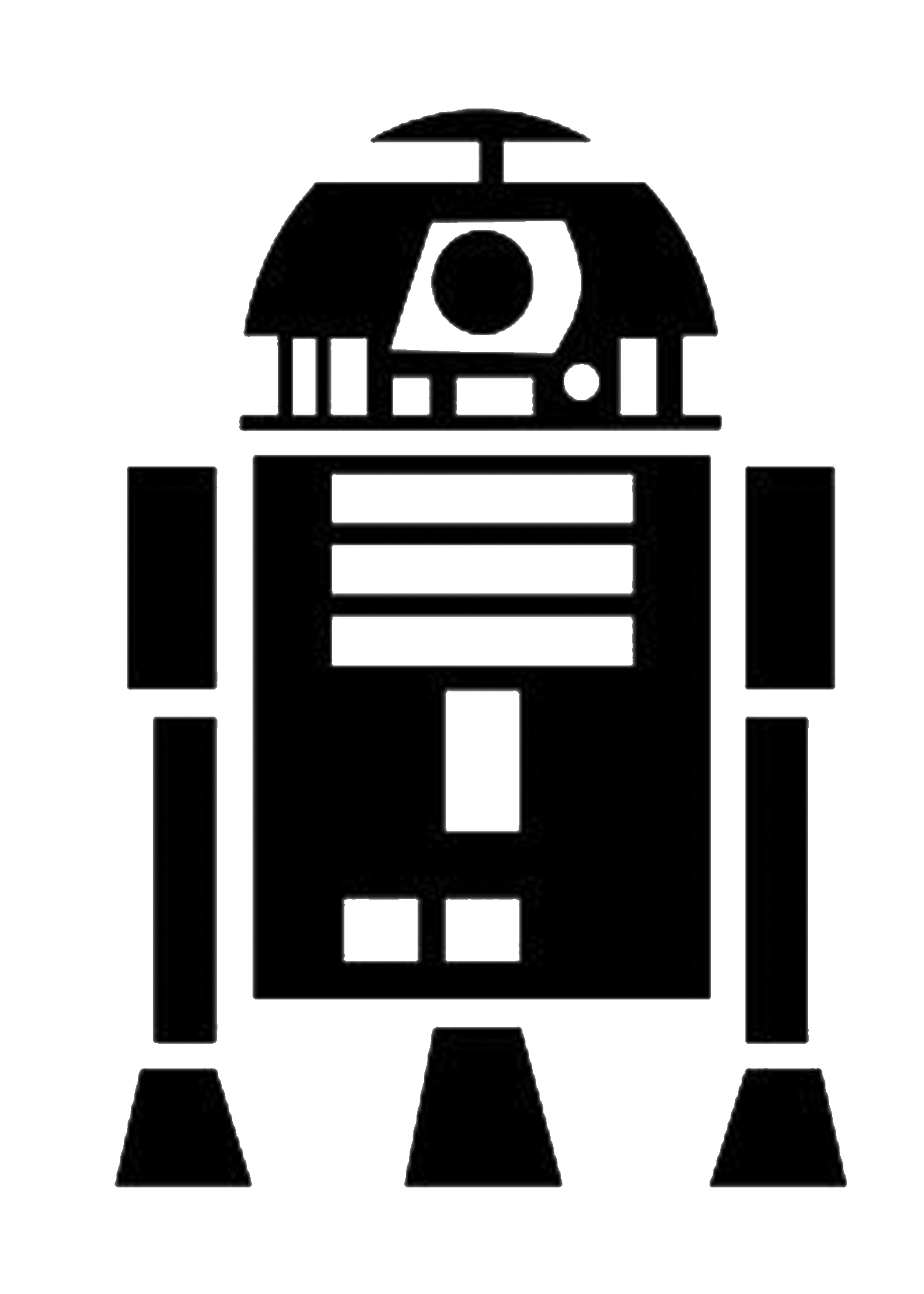 Free star wars clipart image library library Star Wars Wall Art ! - Tatertots and Jello image library library