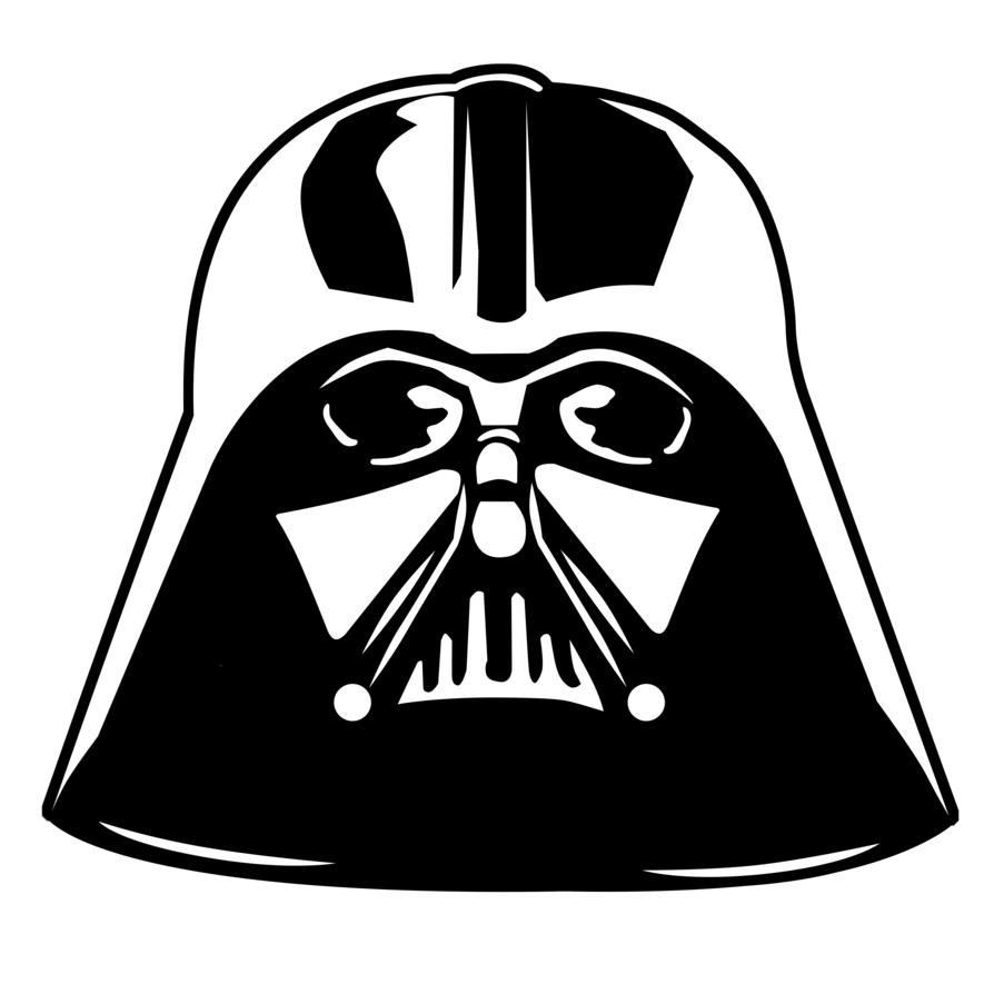 Star wars helmet clipart picture royalty free library Star Wars - Darth Vader by KomankK on DeviantArt picture royalty free library