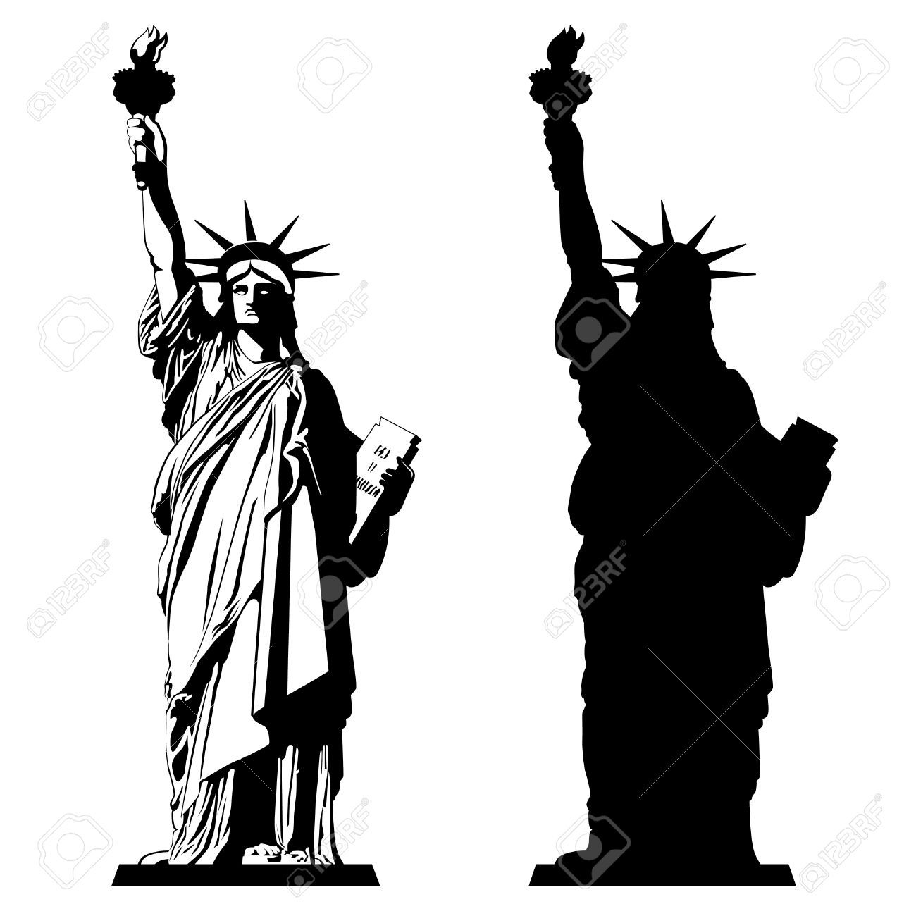 Give me liberty clipart black and white jpg Statue of liberty clipart black and white 1 » Clipart Portal jpg