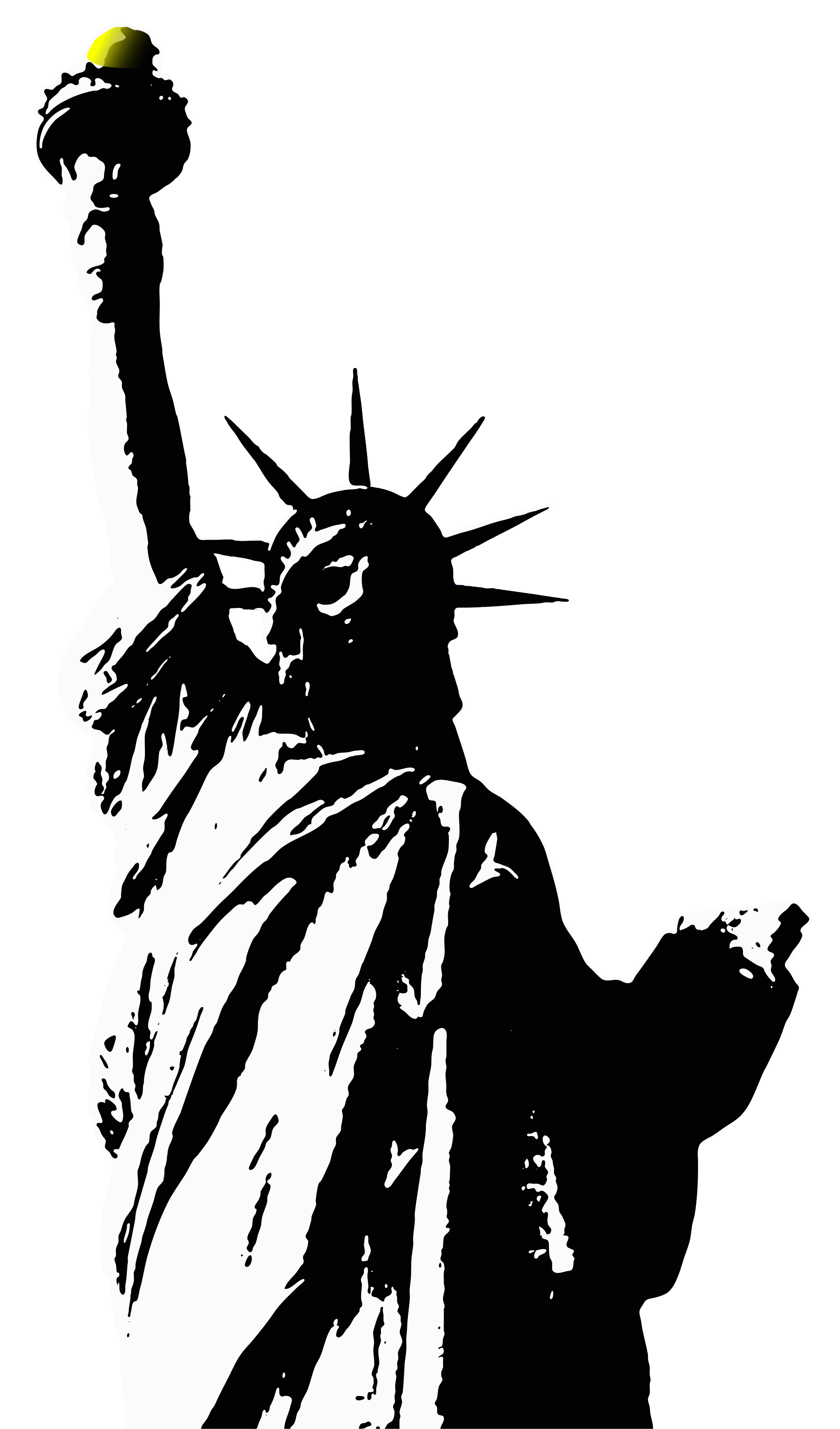 Image statue of liberty black and white clipart clipart free download Pin by Hopeless on Clipart | Statue of liberty, Statue, Liberty island clipart free download