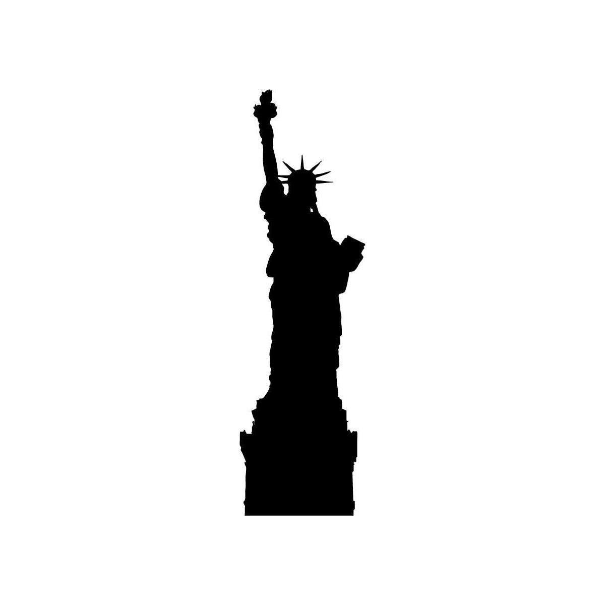 Black and white statue of liberty clipart royalty free library Free Statue Of Liberty Images Black And White, Download Free Clip ... royalty free library