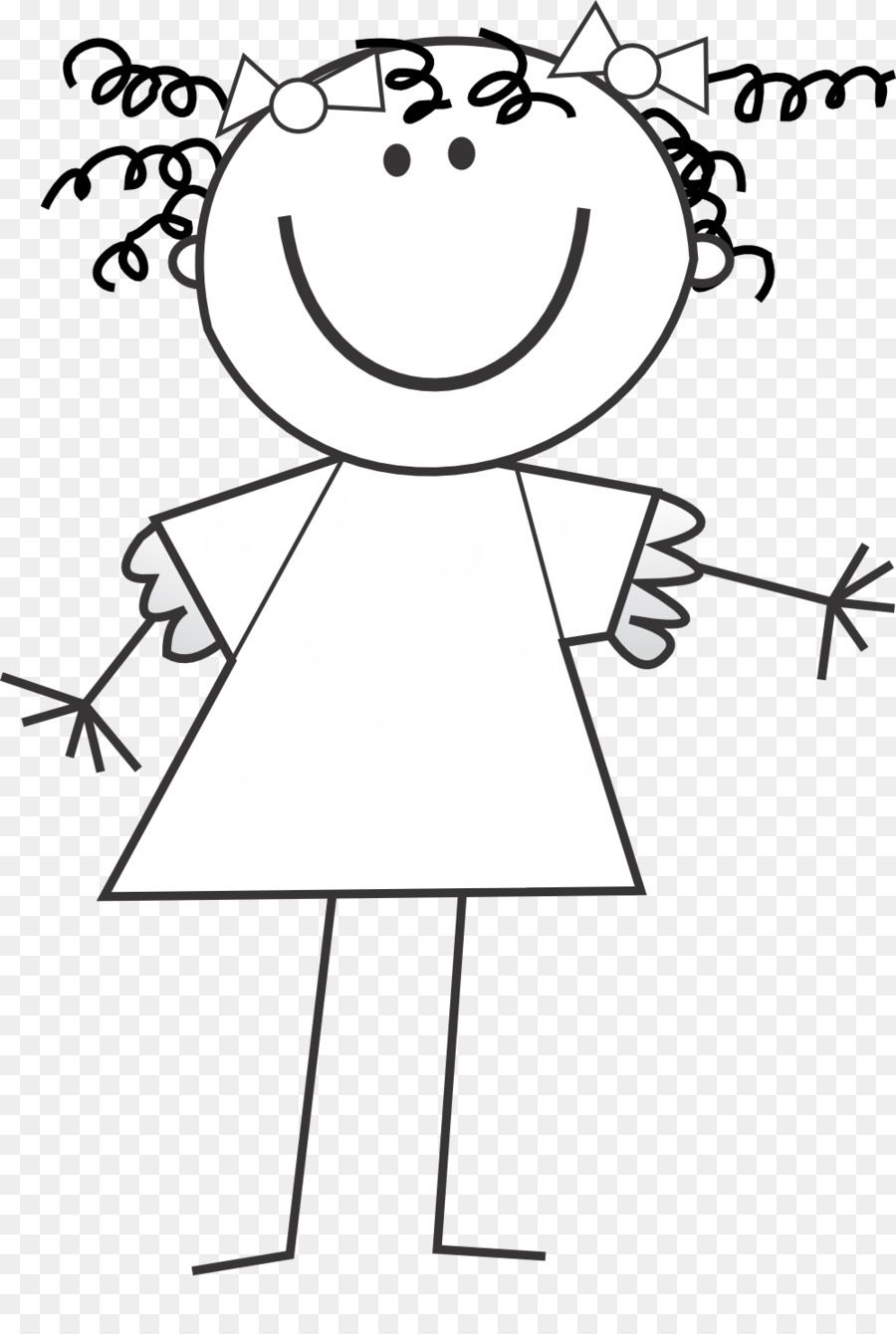 Black and white stick chldren clipart free image free library Free Kids Stick People Black And White Png & Free Kids Stick People ... image free library
