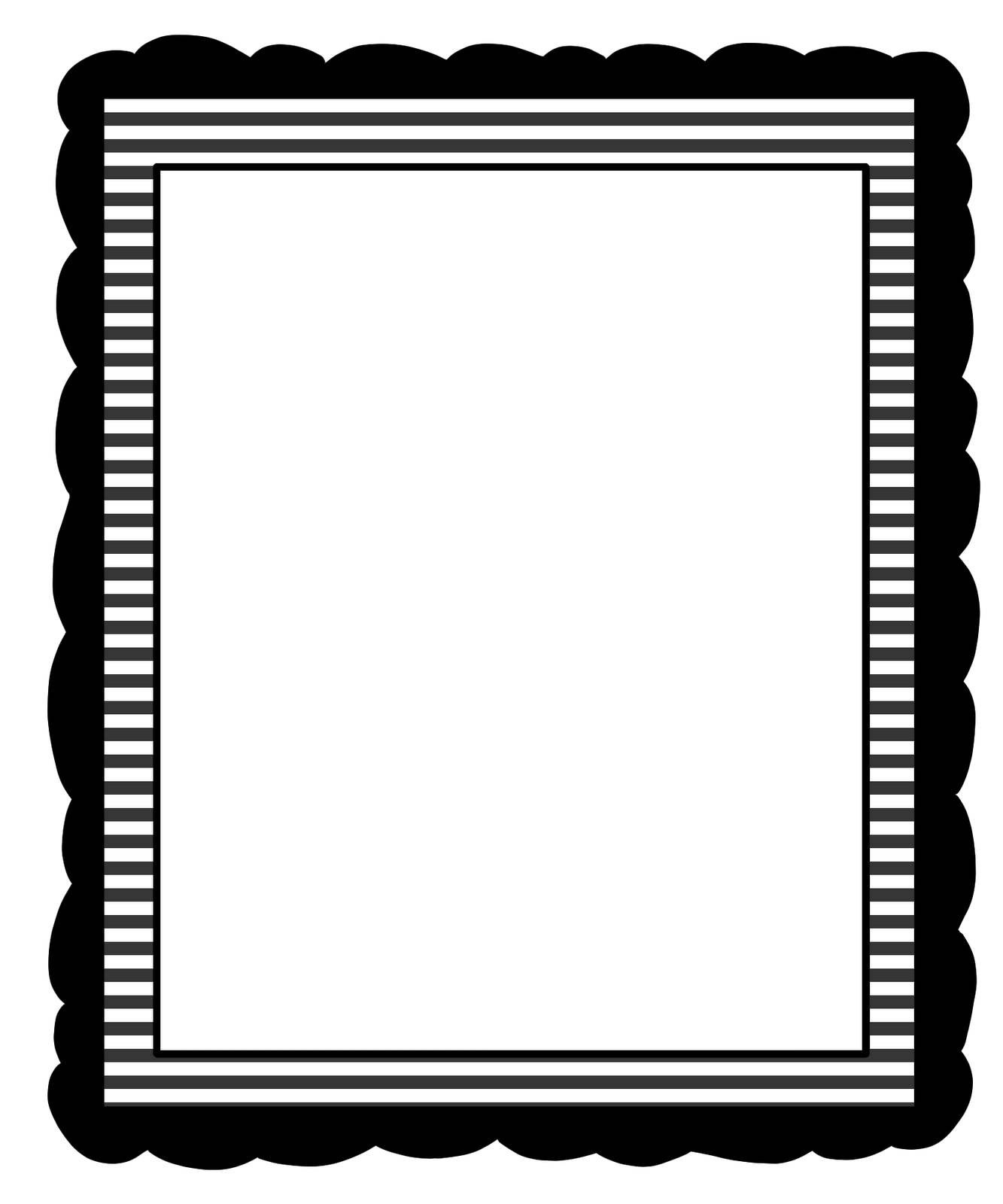 Black and white stripes borders clipart free image free download Free Striped Borders Cliparts, Download Free Clip Art, Free Clip Art ... image free download