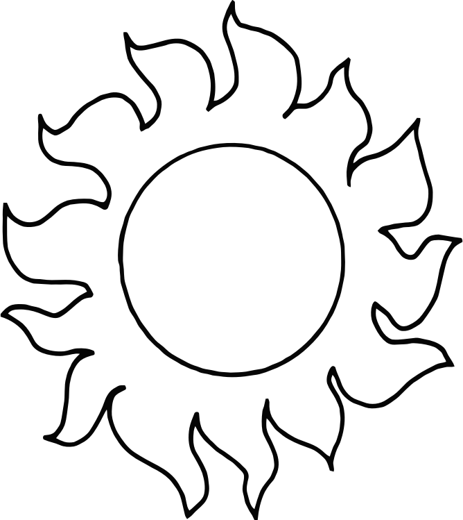 Clipart - Sun - Abstract 010 graphic royalty free library