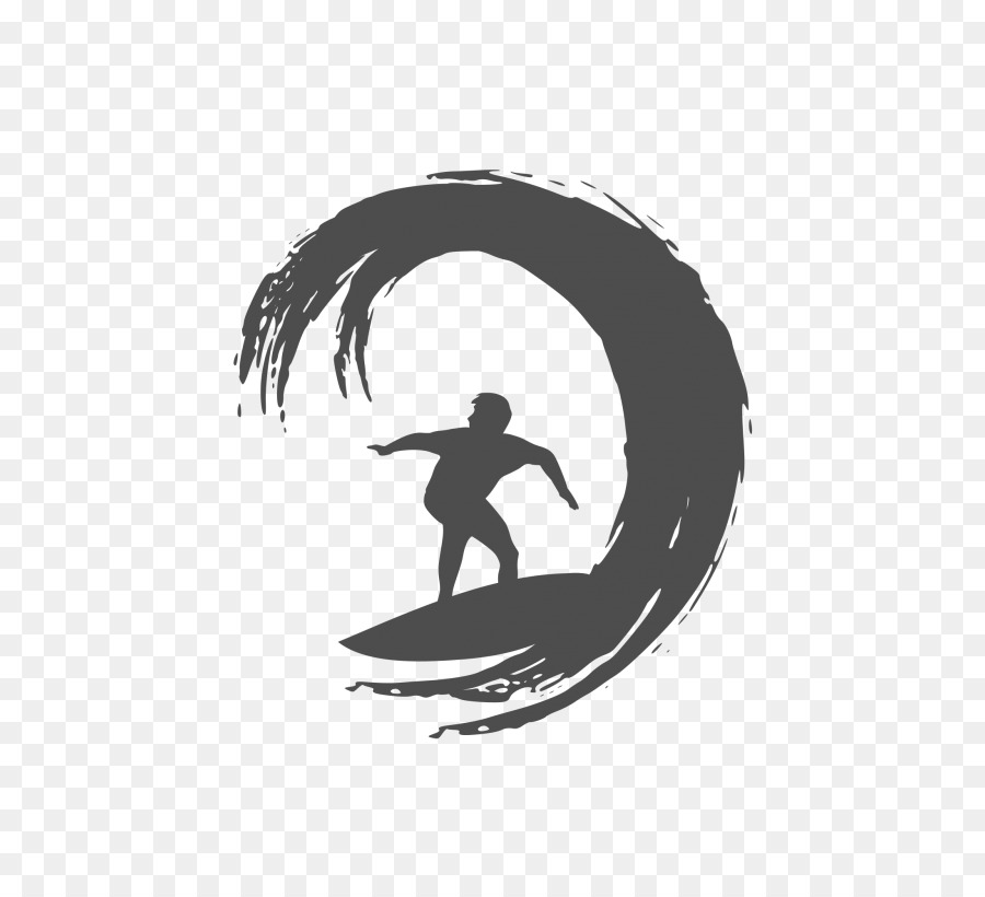 Surfing clipart black and white graphic free download Wave Cartoon clipart - Surfing, Silhouette, Surfboard, transparent ... graphic free download