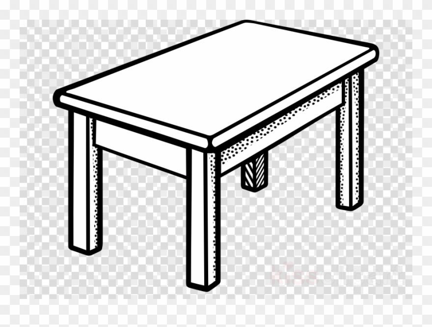 Table Black And White Clipart Bedside Tables Clip Art - Pen Is On ... clipart transparent stock