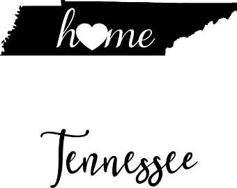 Black and white tennessee states clipart jpg transparent stock Tennessee Clipart | Free download best Tennessee Clipart on ... jpg transparent stock