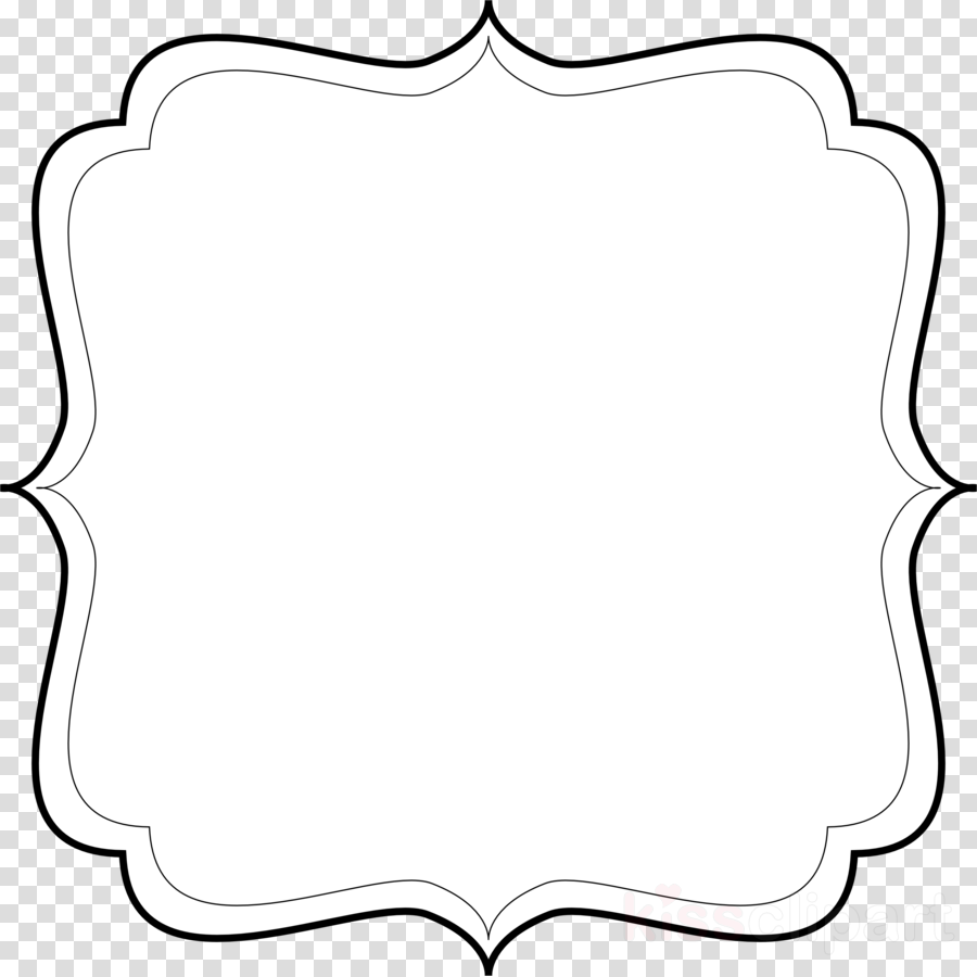 Black and white text box clipart