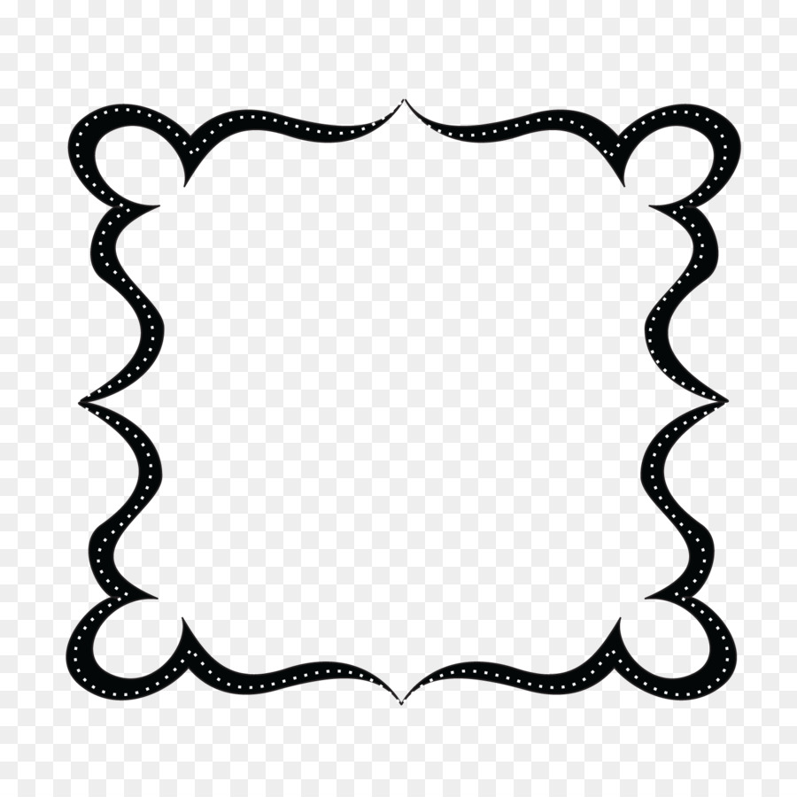 Black and white text box clipart png black and white download Border Design Black And White png download - 1500*1500 - Free ... png black and white download