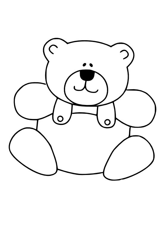Black and white tired turkey clipart clip royalty free download Bear Black White Line Art Christmas Xmas Teddy Bear Stuffed Animal ... clip royalty free download