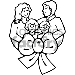 Black and white together clipart picture black and white family clipart - Royalty-Free Images   Graphics Factory picture black and white