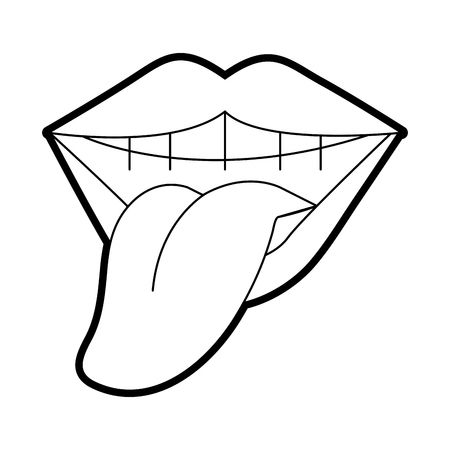 Black and white tongue clipart jpg black and white download Mouth And Tongue Clipart Black And White (102+ images in Collection ... jpg black and white download