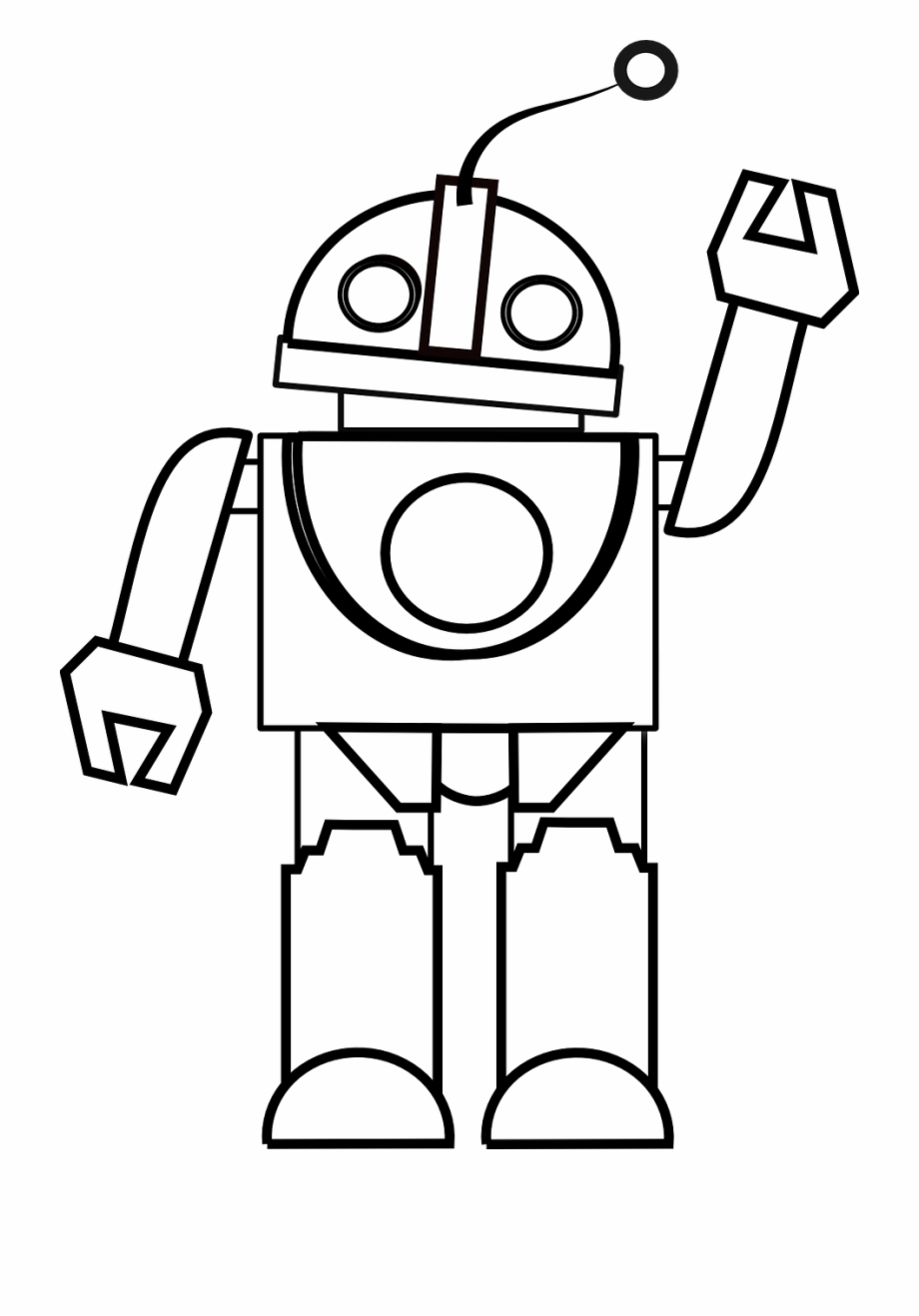 Toy black and white clipart clip art black and white Toy Clipart Black And White - Robot Black And White, Transparent Png ... clip art black and white