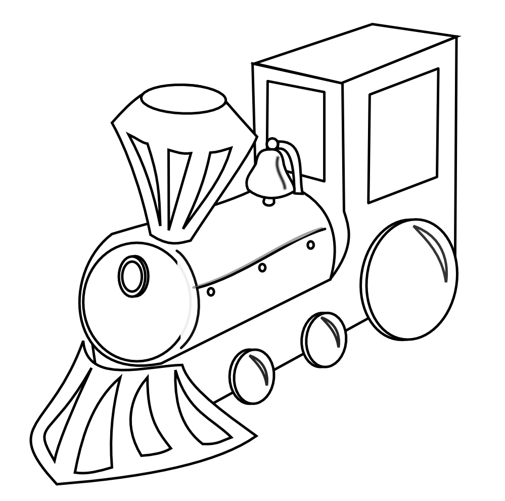 Black and white train car clipart clip freeuse stock clipartist.net » Clip Art » tren train black white bw clipartist.net ... clip freeuse stock