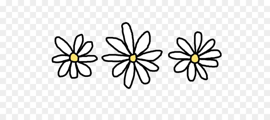 Black and white tumblr cliparts clip art freeuse Black And White Flower clipart - Drawing, Flower, Yellow ... clip art freeuse