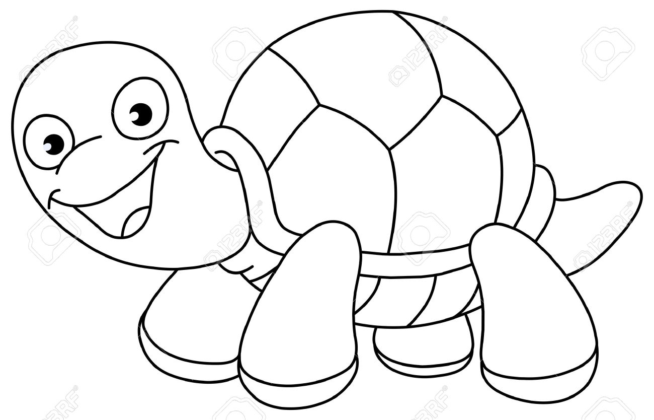 Black and white turtle clipart clip freeuse library Best Turtle Clipart Black And White #12945 - Clipartion.com clip freeuse library