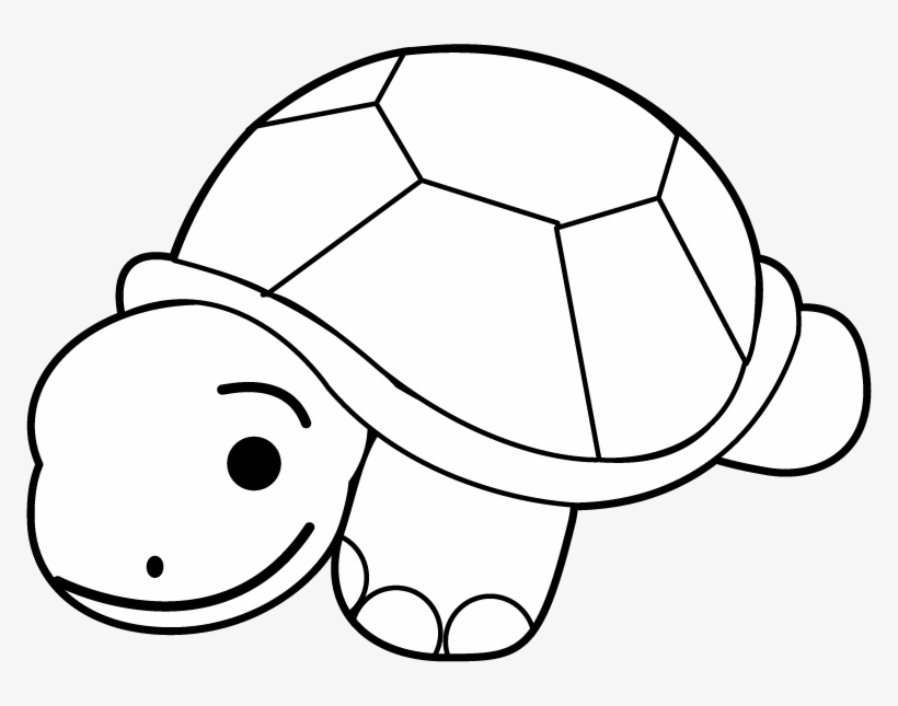 Black and white turtle clipart vector library Turtle Clip Art Black And White - White Turtles Clip Art PNG Image ... vector library