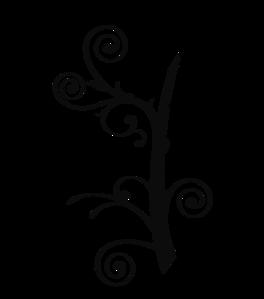 Black and white vines clipart clip art black and white library Vine Clipart Black And White | Clipart Panda - Free Clipart Images ... clip art black and white library