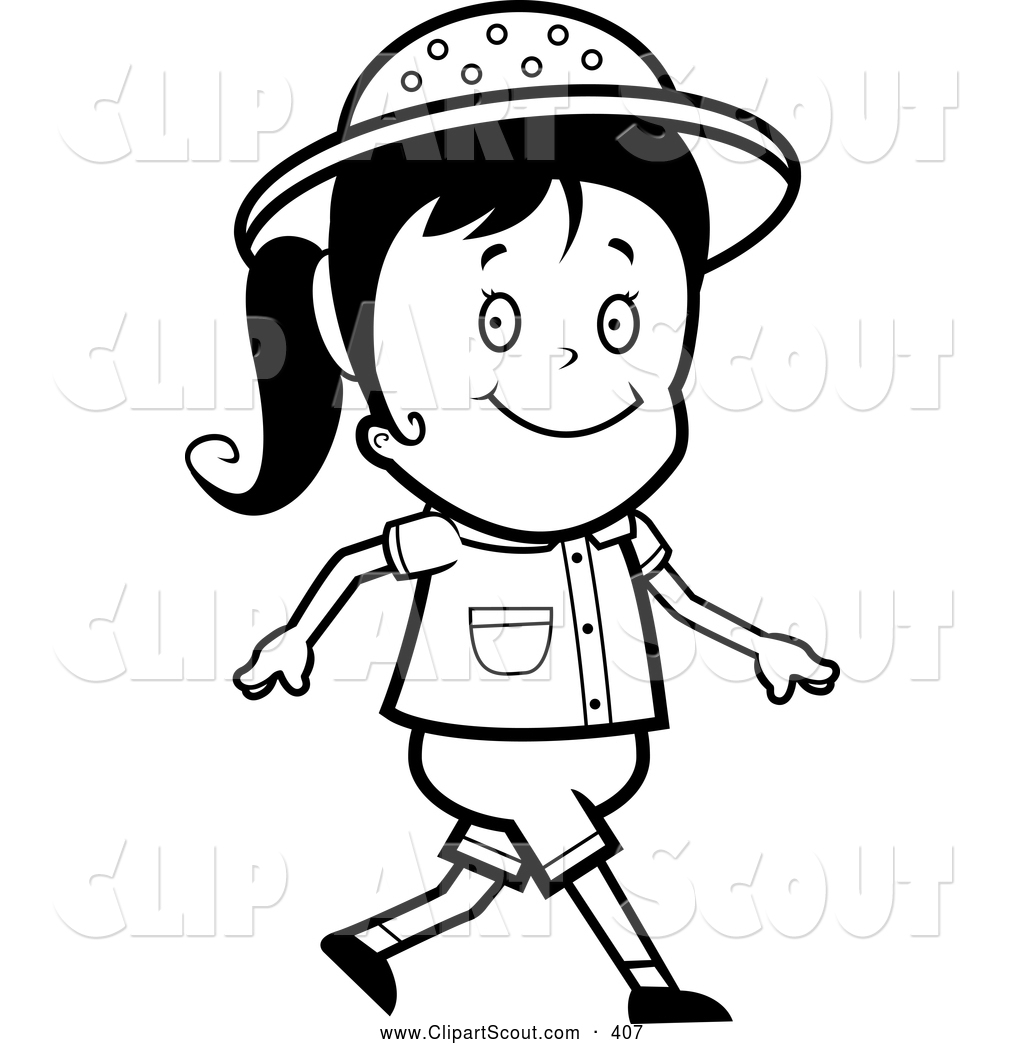 Black and white walking clipart svg library Walking clipart black and white 9 » Clipart Station svg library