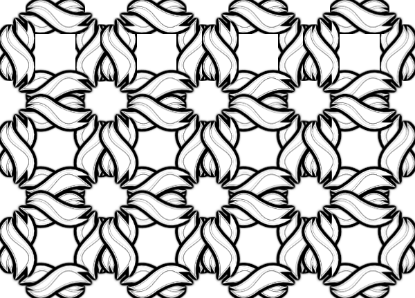 Black and white wallpaper clipart picture black and white Black And White Wallpaper Clip Art at Clker.com - vector clip art ... picture black and white