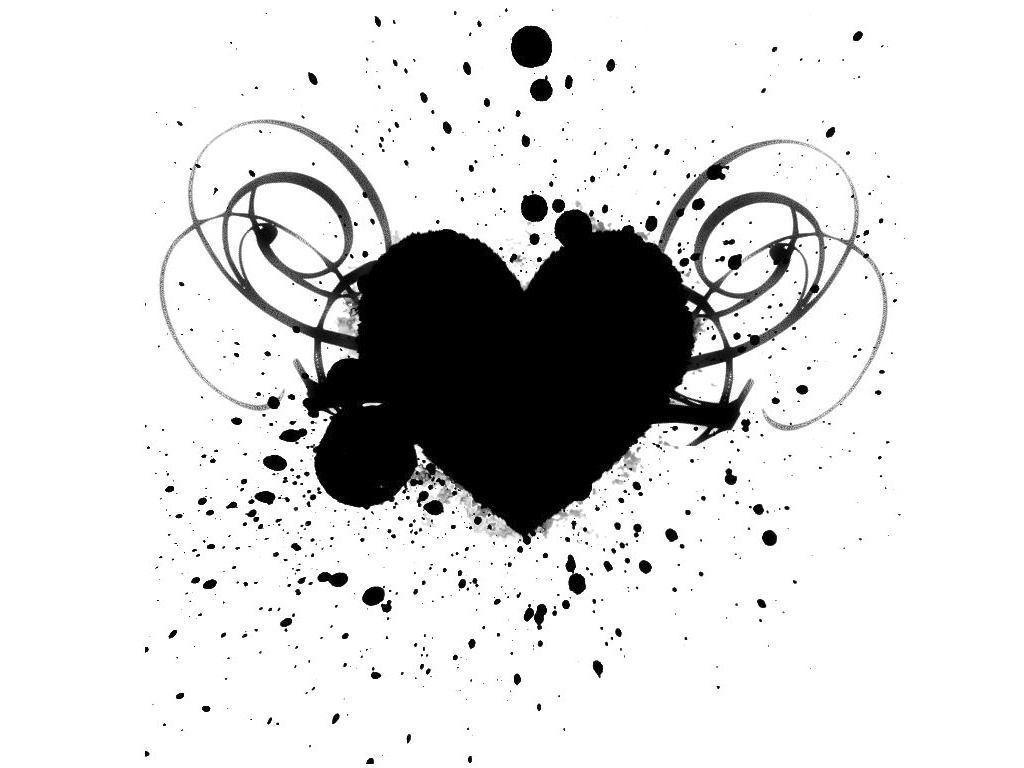 Black and white wallpaper clipart svg free Black And White Heart Wallpapers - Wallpaper Cave svg free