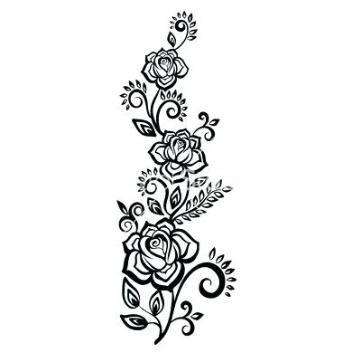 Black and white wedding flower clipart k and r transparent download black and white flowers vector – albadorataitalia.com transparent download