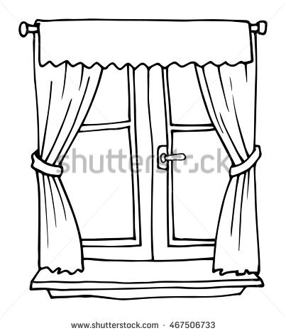 Window clipart black and white image royalty free Window clipart black and white 4 » Clipart Station image royalty free