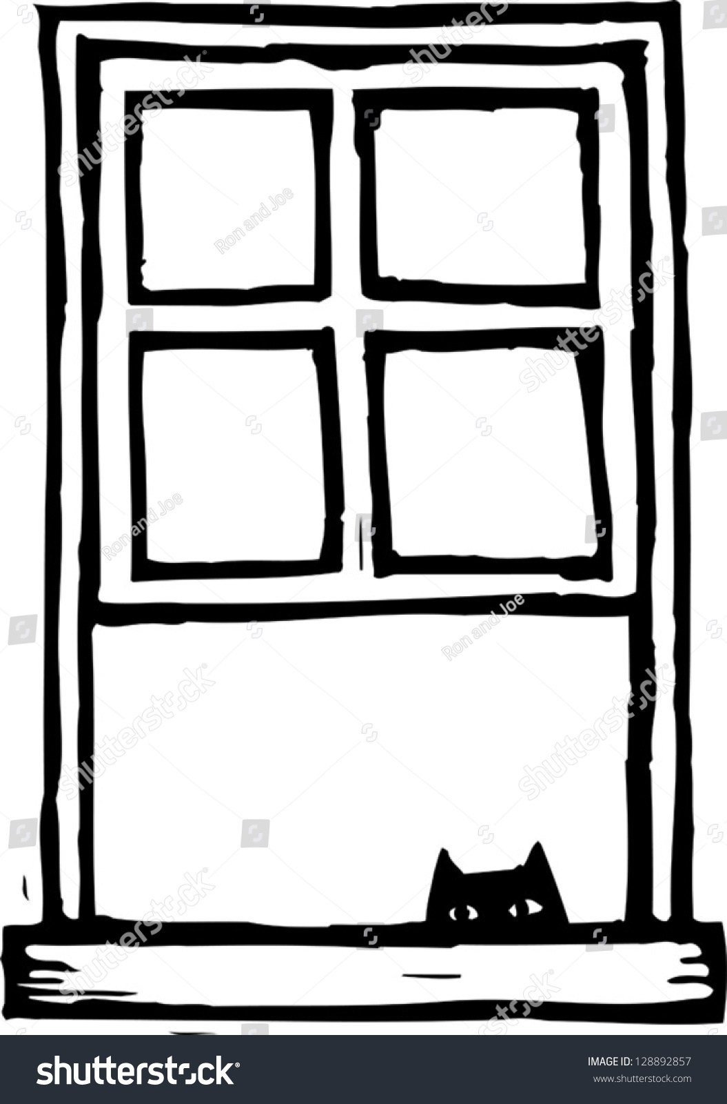 Black and white window clipart graphic transparent library Clipart black and white window 6 » Clipart Portal graphic transparent library