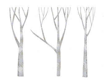Black and white winter birch tree clipart freeuse stock Birch Tree Clipart & Look At Clip Art Images - ClipartLook freeuse stock