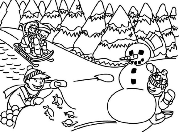 Black and white winter clipart png library Winter clipart black and white 4 » Clipart Station png library