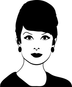 Black and white woman clipart jpg free stock 23+ Woman Clipart Black And White | ClipartLook jpg free stock