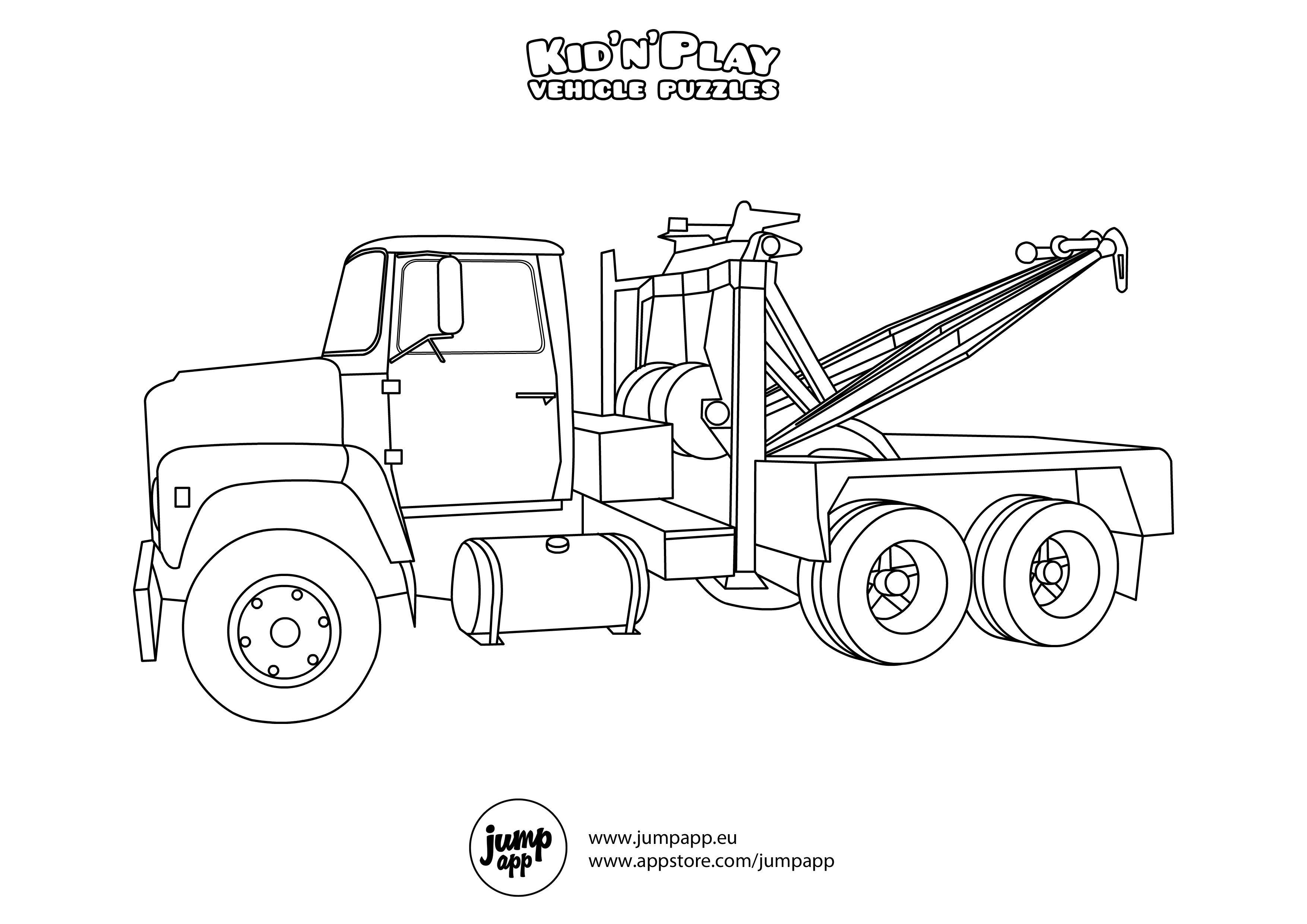 Black and white wrecker clipart image library library Free Rollback Truck Cliparts, Download Free Clip Art, Free Clip Art ... image library library