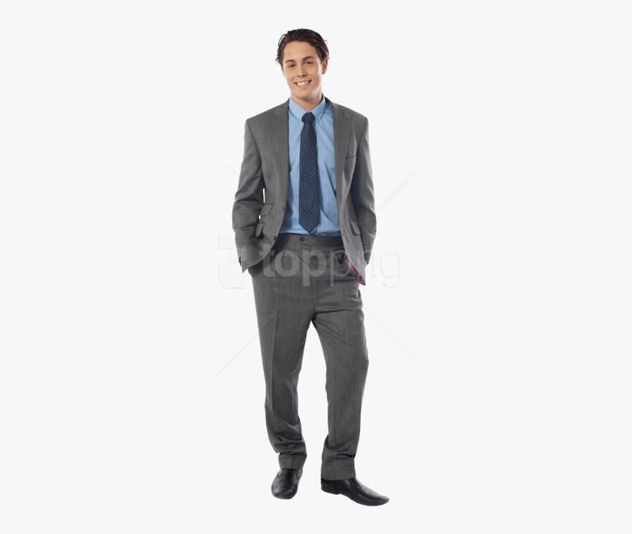 Black and white young man in suit clipart png free Download Men Images - Man In Suit Png #1633425 - Free Cliparts on ... png free