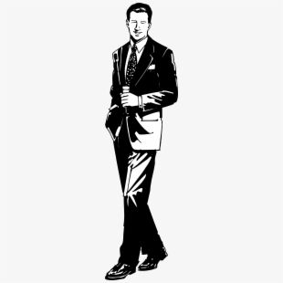 Black and white young man in suit clipart jpg freeuse download Young Man In Suit Clipart - Man In Suit Clipart Black And White ... jpg freeuse download