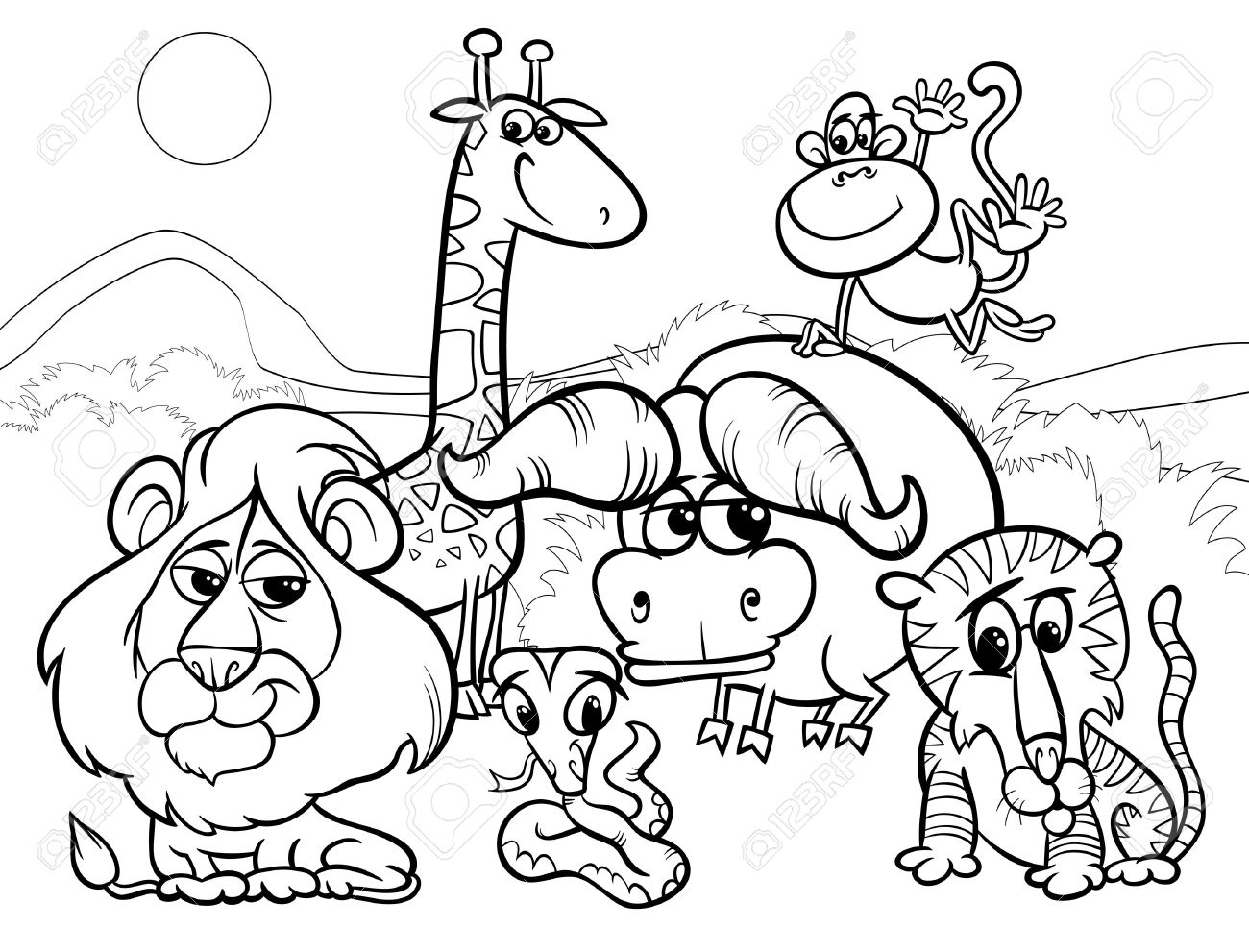 Black and white zoo clipart banner royalty free Zoo clipart black and white 8 » Clipart Station banner royalty free