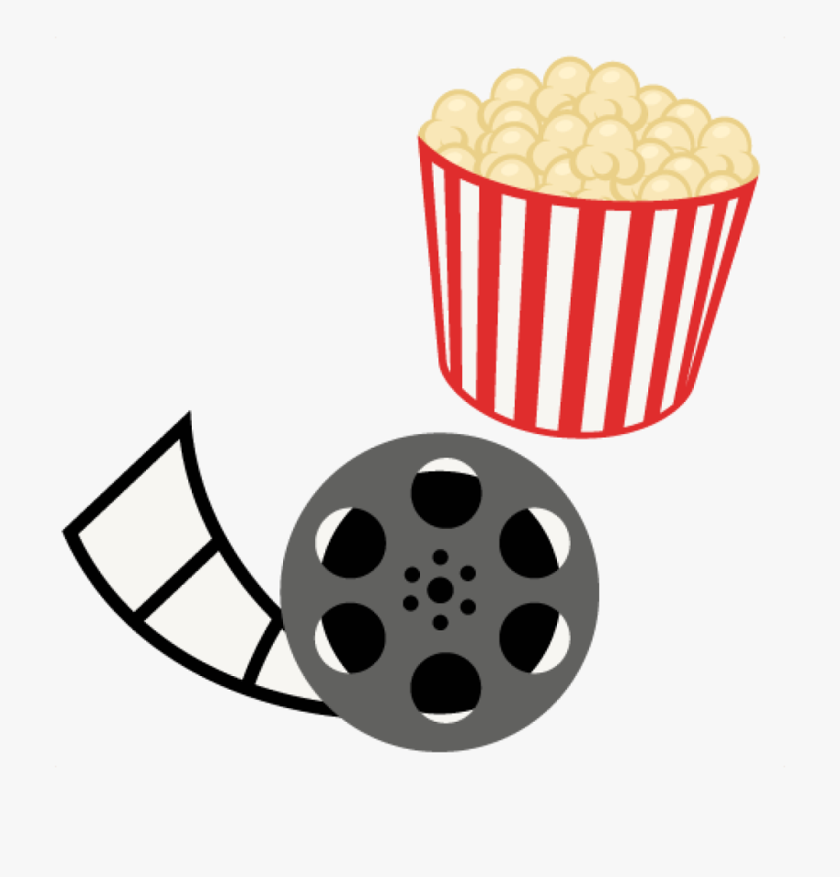 Movie and popcorn clipart graphic free download Free Clipart Popcorn Popcorn Movie Reel Movie Night - Movie And ... graphic free download