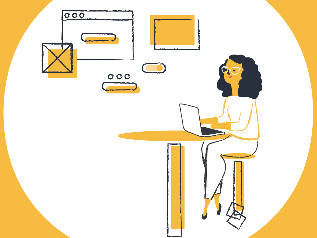 Black and yellow 2019 clipart image library Black & Yellow by Laure Bordet Debruyne on Dribbble image library