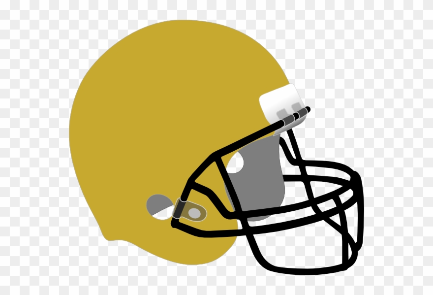 Black and yellow football clipart jpg freeuse Black And Gold Football Helmet Clipart (#1437871) - PinClipart jpg freeuse