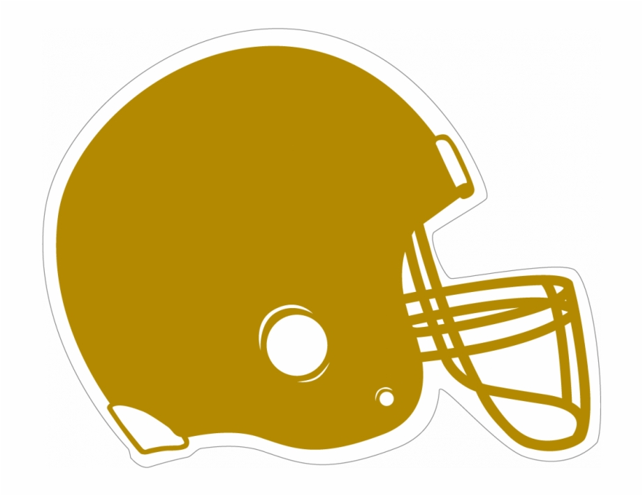 Black and yellow football clipart freeuse download Gold Football Clipart - Orange And White Football Helmet ... freeuse download