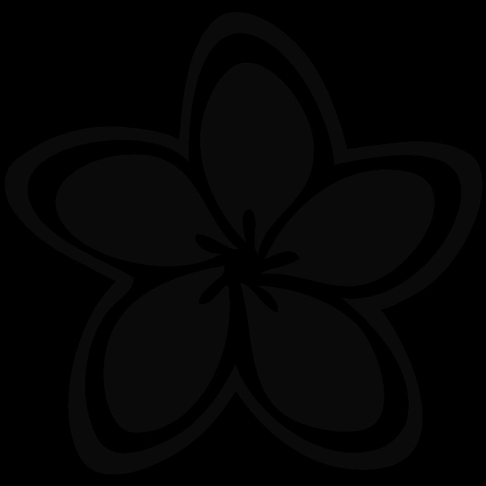 Circle hawaiian leaves black and white clipart jpg royalty free library Hawaiian Clipart Black And White | Free download best Hawaiian ... jpg royalty free library