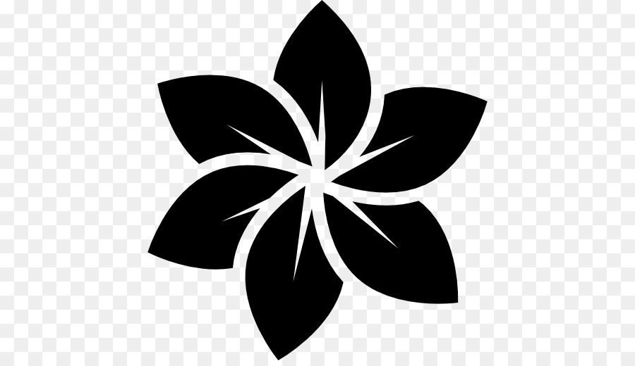 Black anf white plumeria clipart picture black and white stock Black And White Flower clipart - Flower, Leaf, transparent clip art picture black and white stock